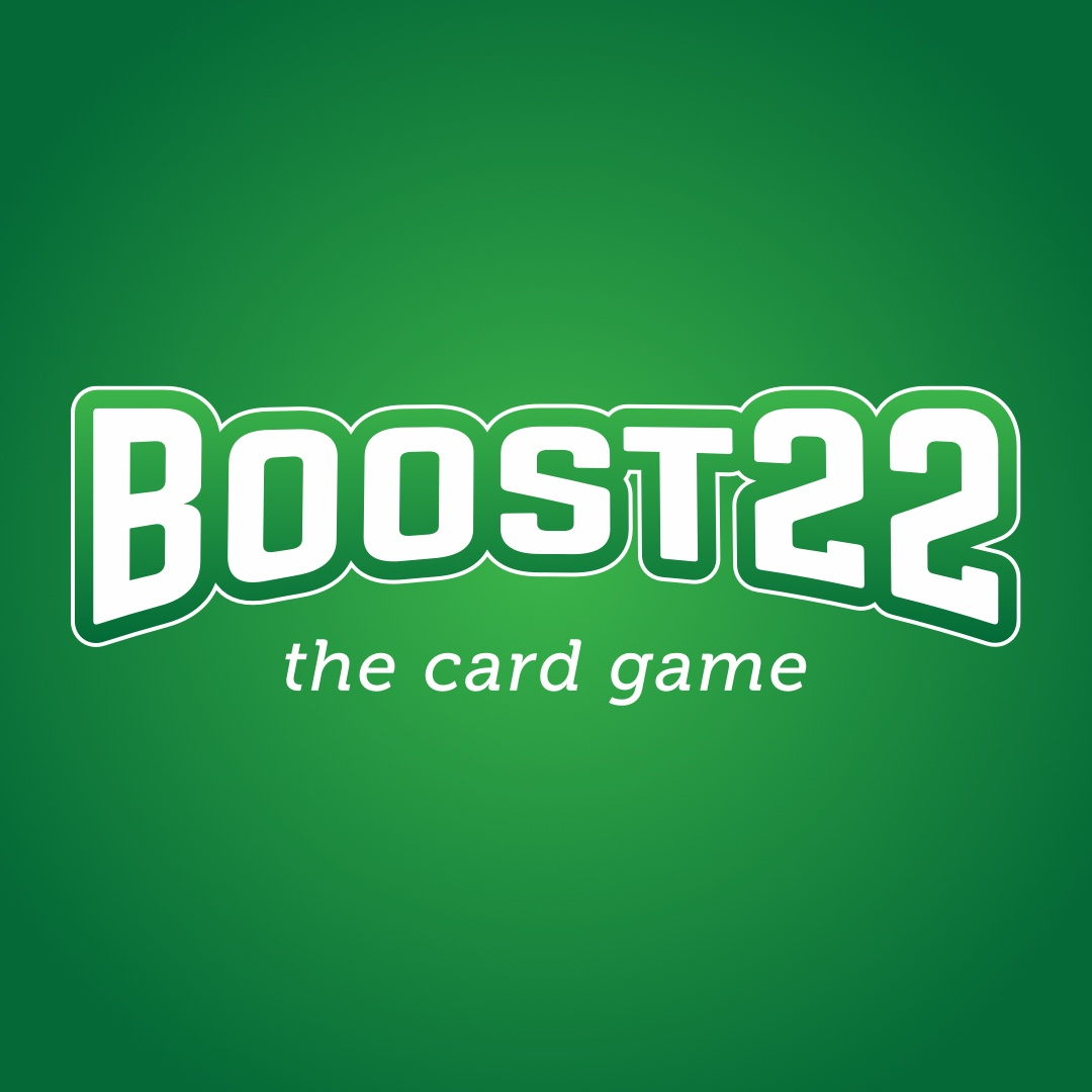 BOOST22 the card game logo